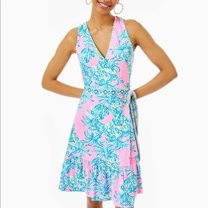 Lily Pulitzer Misha Wrap Dress XS NWT